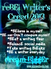 Take the Rebel Writer's Creed for 2013!