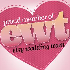 Member of the Etsy Wedding Team