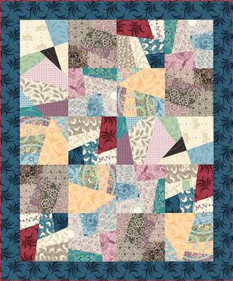 Downton Abbey Crazy Quilt Design