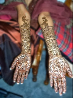 Feet Mehndi Designs 2013