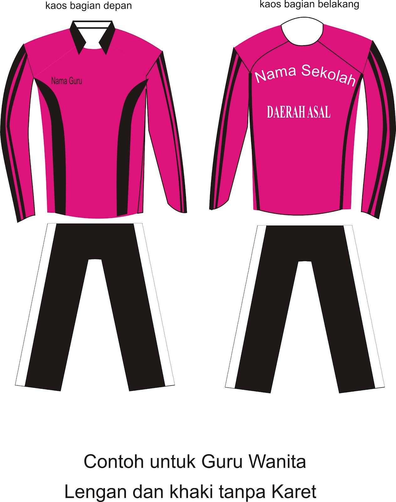 Desain Kaos Olahraga