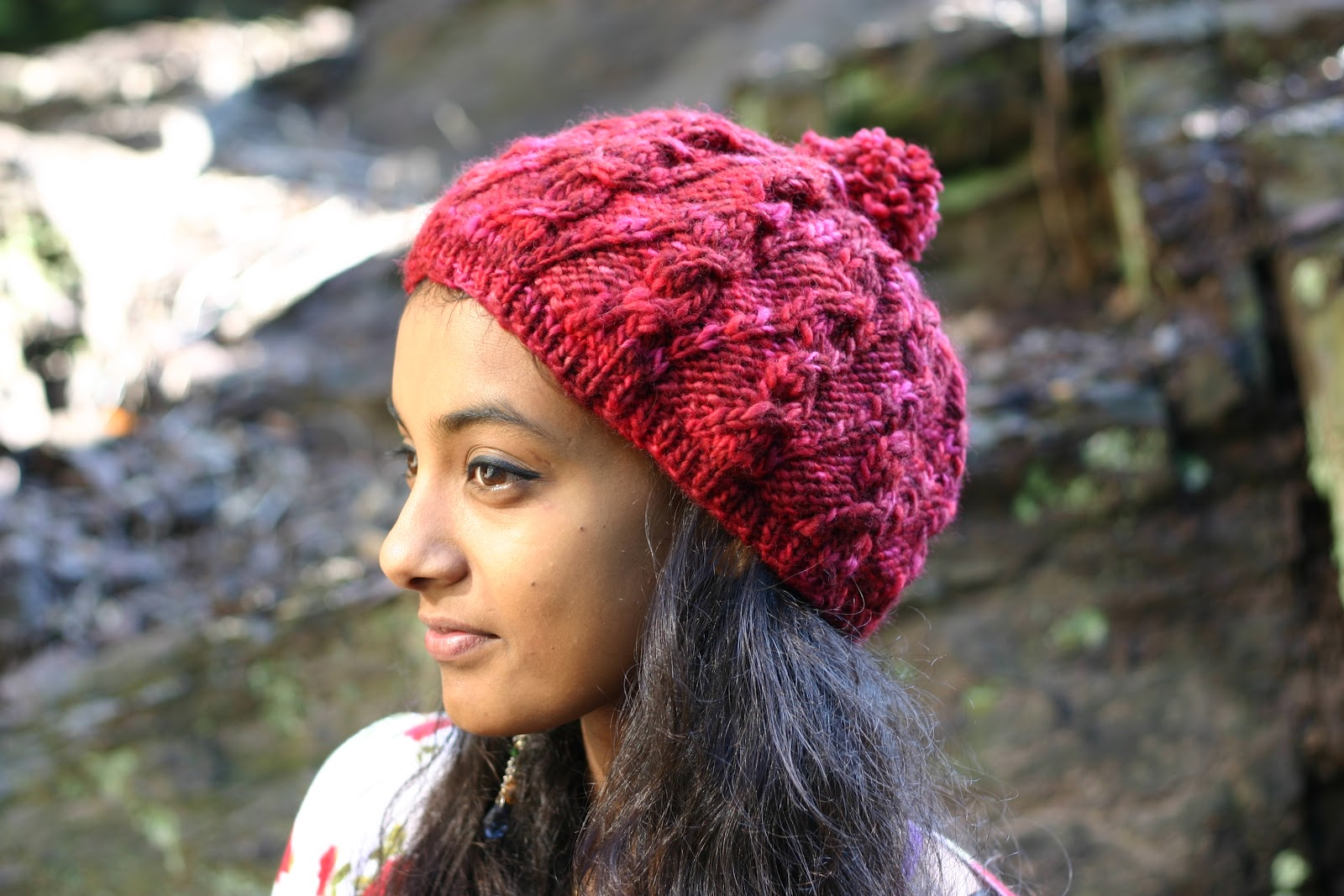 Free Slouchy Hat Knitting Pattern : Free Slouchy Hat Knitting Pattern NobleKnits Free Patterns