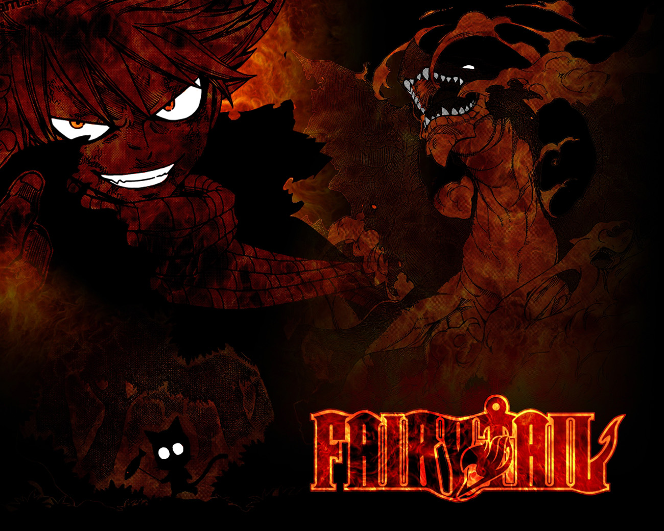 gallery for fairy tail logo wallpaper fire