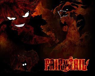 Fairy Tail Natsu Dragneel Fire Dragon Igneel Happy Anime HD Wallpaper Desktop Background