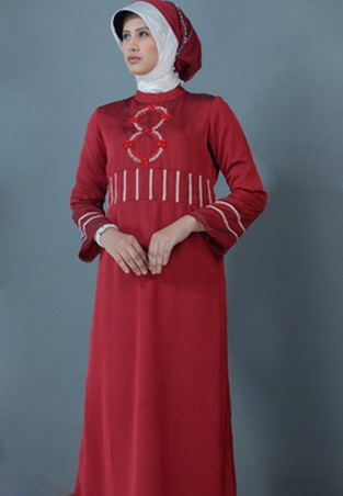 Gambar Baju Gamis Modern 276 - Baju Gamis Modern