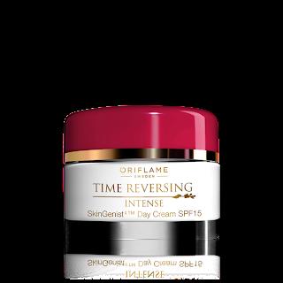 Oriflame Time Reversing Intense SkinGenistII Gündüz Kremi SPF 15