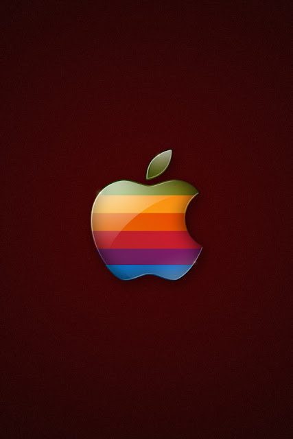 Classic Apple iPhone Wallpaper By TipTechNews.com