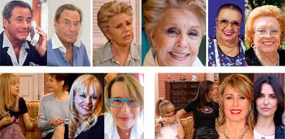 Arturo Fernández, Lola Herrera, Florinda Chico, Emma Ozores, Natalia Menéndez, Miriam Díaz Aroca, Patricia Vico