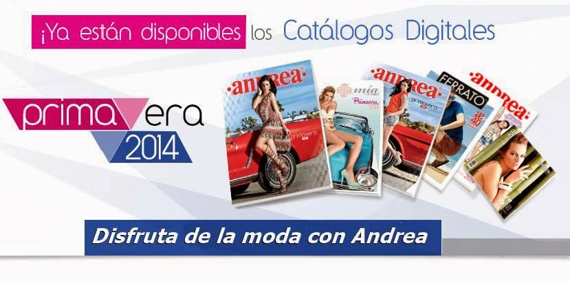 andrea catalogos primavera verano 2014