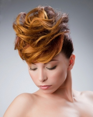 Ginger Hair Highlights Idea 2014