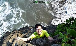 pantai untuk foto dan santai