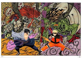 Jurus-Jurus Uchiha yang Berasal Dari Mitologi Jepang