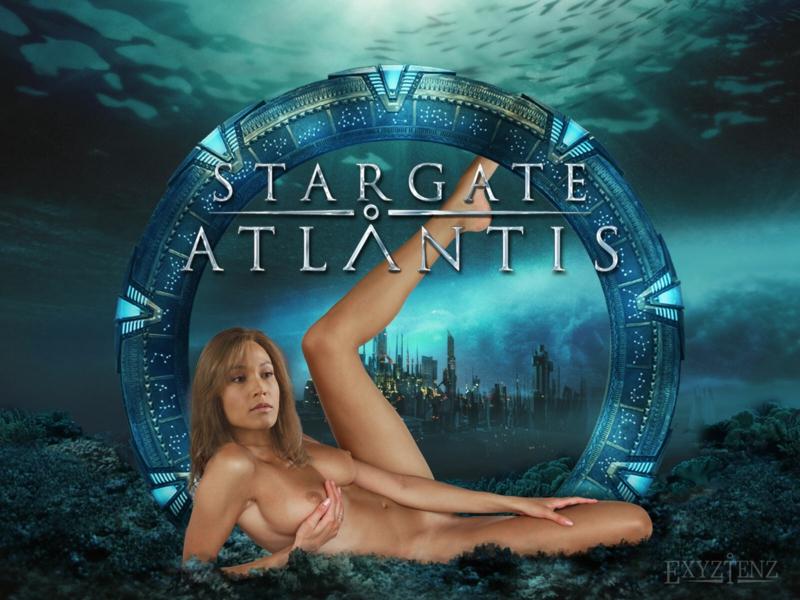 stargate atlantis girls naked