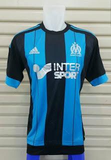 gambar detail jersey musim depan Jual jersey Marseille away Official Adidas terbaru musim 2015/2016 di enkosa sport harga murah
