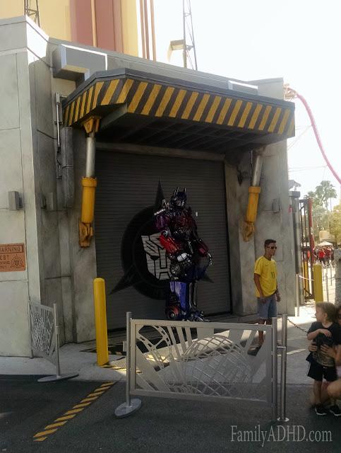 Universal Studios Florida Family Travel Guide Transformers