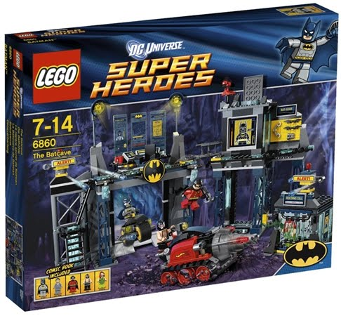 6860 lego super heroes the batcave