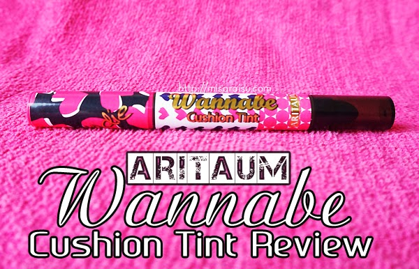 aritaum wannabe cushion lips blondie