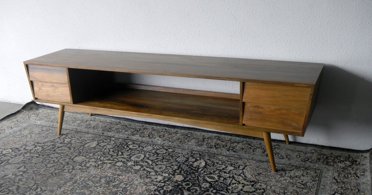 Second charm mid century modern furniture simplicity is for Sideboard 3 meter lang