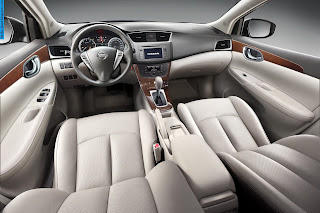 Nissan sylphy car 2013 interior - صور سيارة نيسان سيلفى 2013 من الداخل