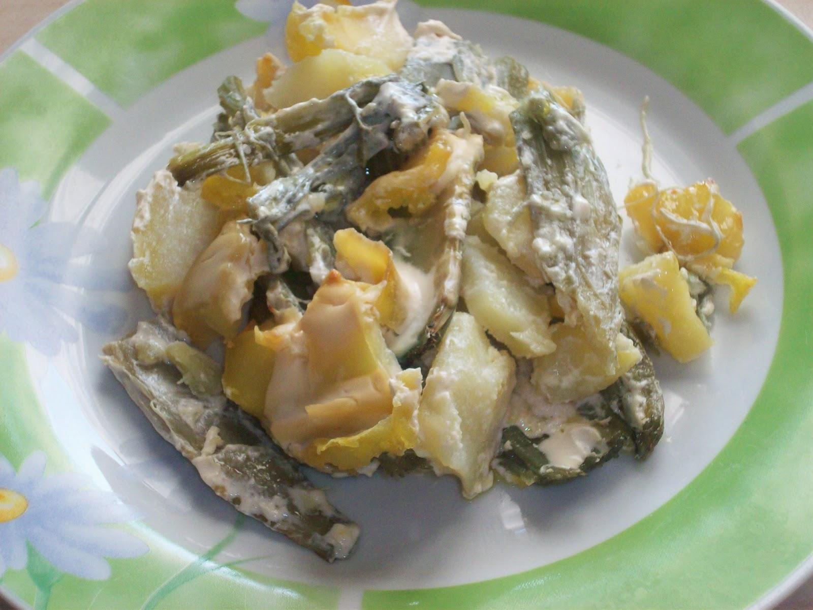 Cardi e patate con panna da valeria in cucina su - Ricette con la panna da cucina ...