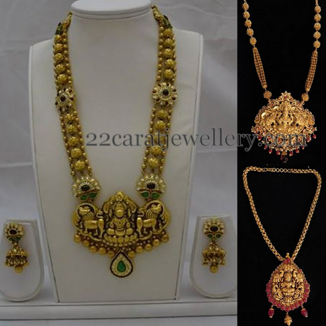 Gold Sets with antique Fusion Work