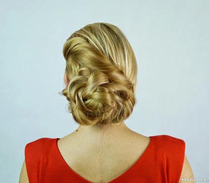 fryzura ślubna 18