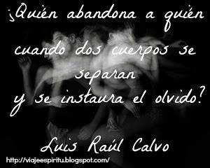 Luis Raúl Calvo, Señales de alarma