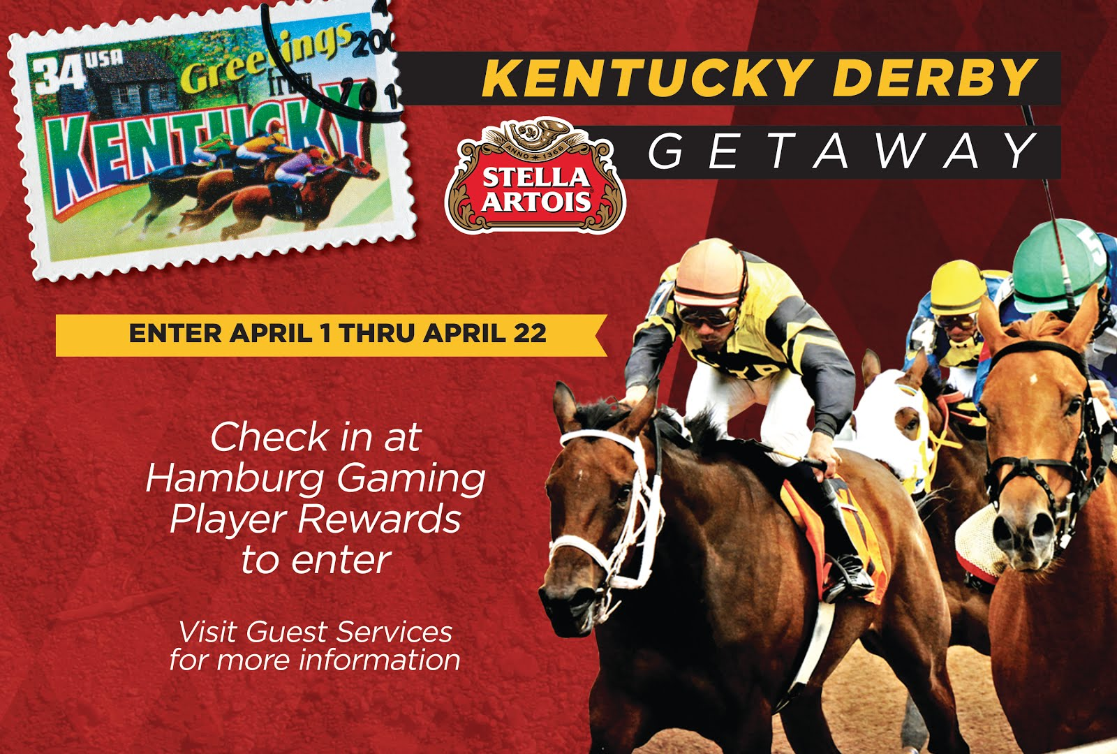 Win a trip to Kentucky Derby