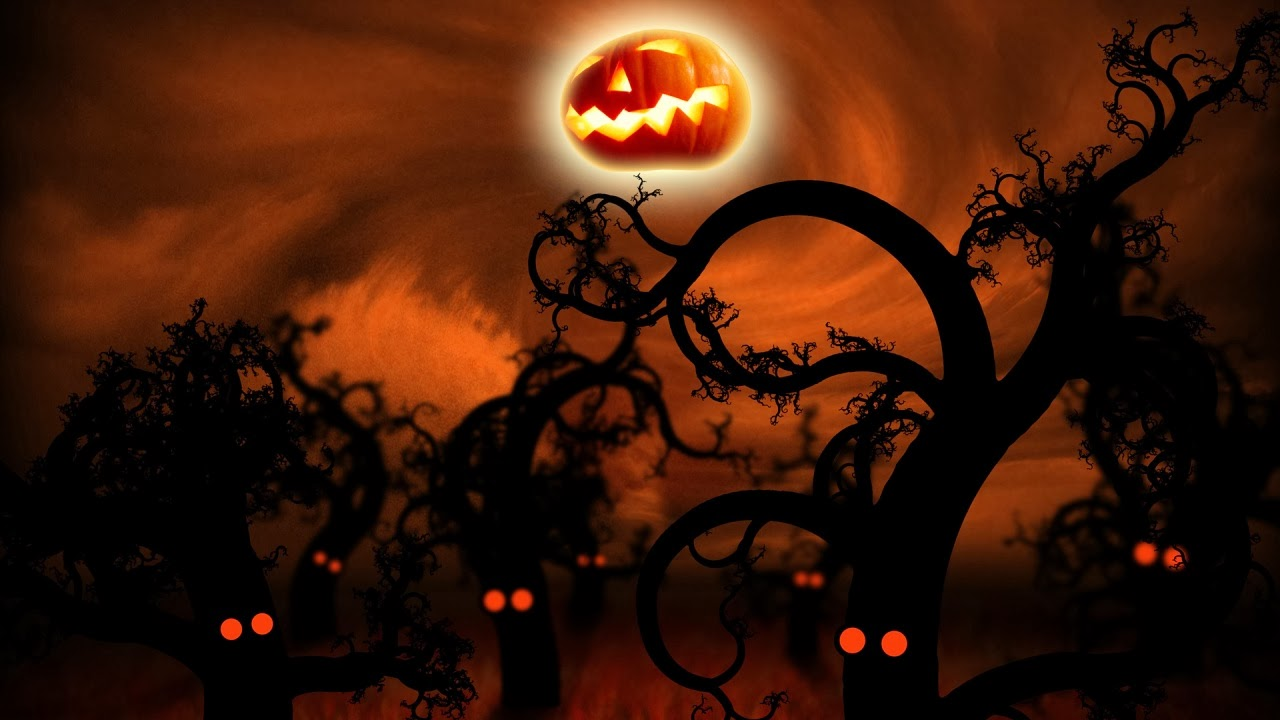 midnight forest halloween wallpapers - Download Midnight Forest Halloween Wallpaper Full HD