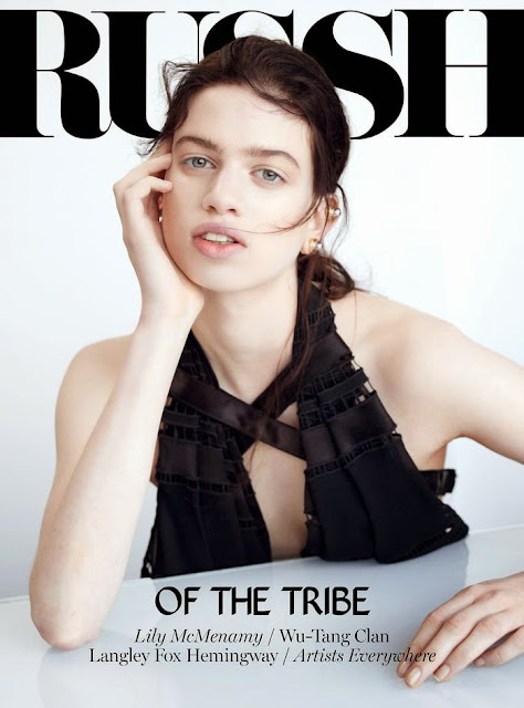 Lily McMenamy Photos from Rush Australia Magazine Cover February 2014 HQ Scans