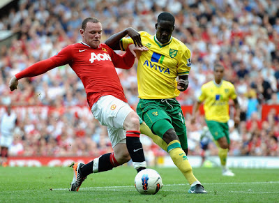 Wayne Rooney Manchester United vs Norwich City