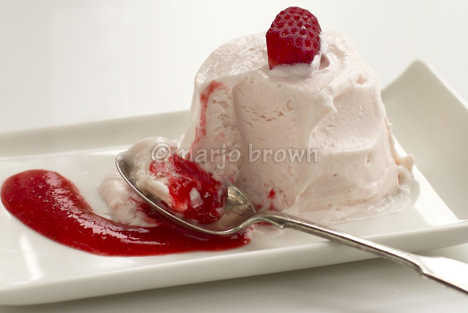 ... desserts real simple frozen lemon mousse frozen lemon mousse