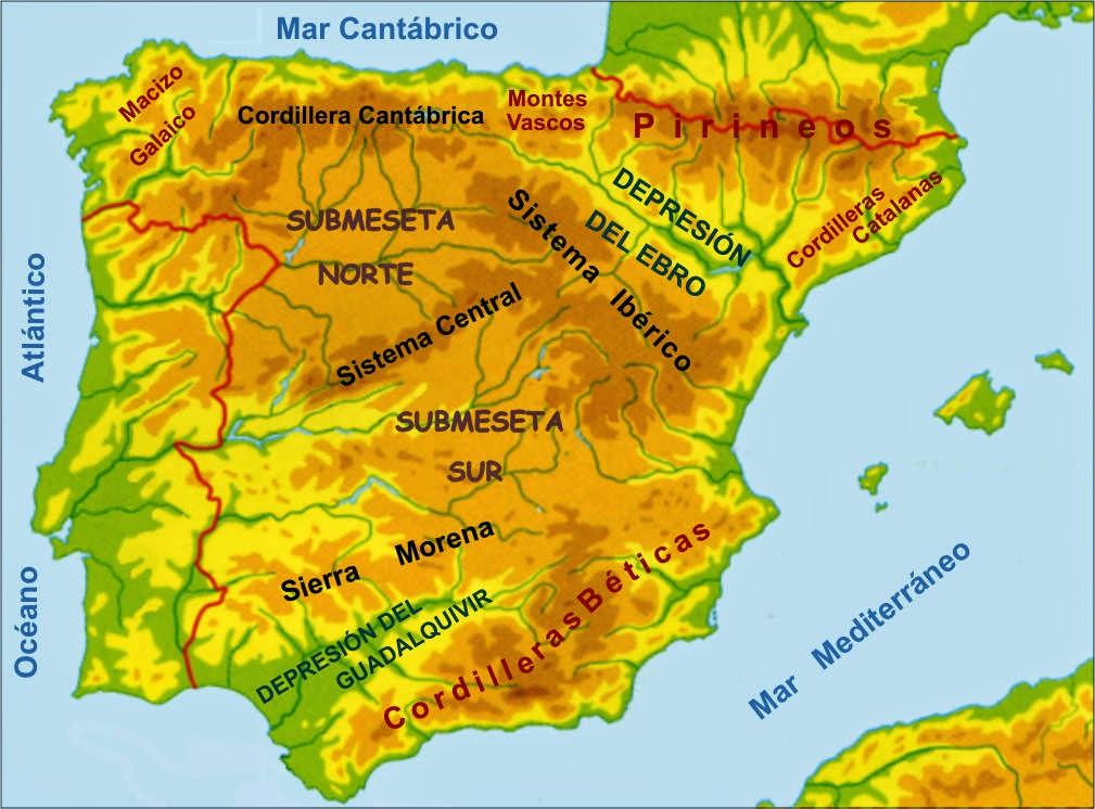 http://luisamariaarias.wordpress.com/cono/tema-9-o-relevo/o-relevo-de-espana/