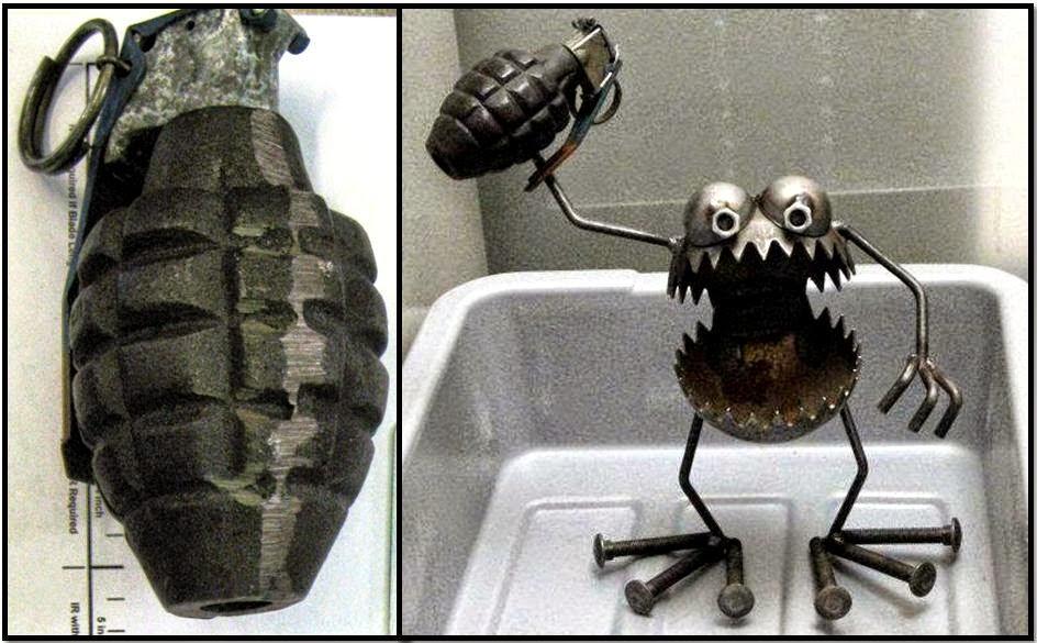 Inert Grenade (SJC), Monster With Inert Grenade (EGE)