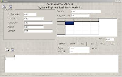 contoh program penjualan dengan delphi