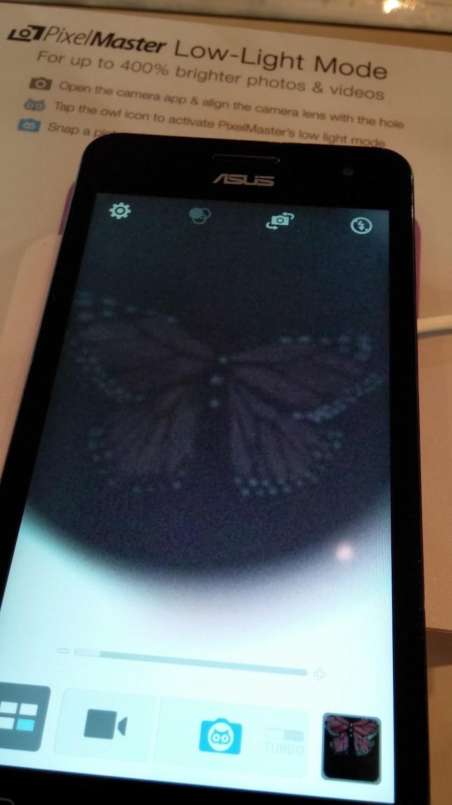 Nueva tecnología de baja luminosidad de Asus, Pixelmaster