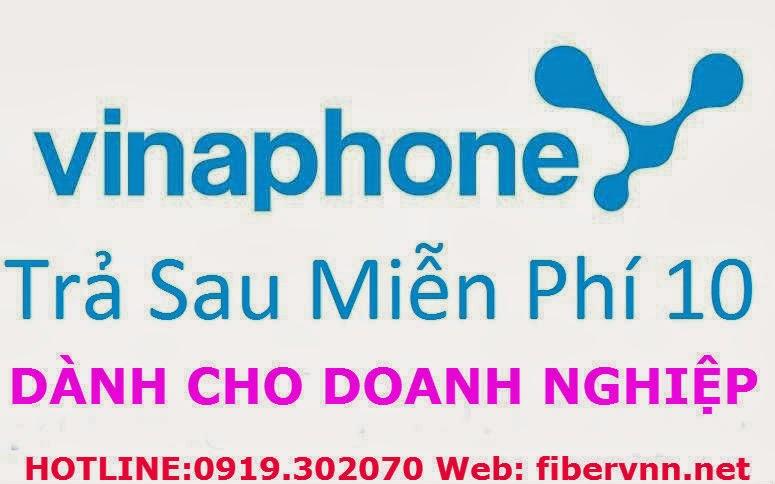 Vinaphone miễn phí 10 phút cho doanh nghiệp
