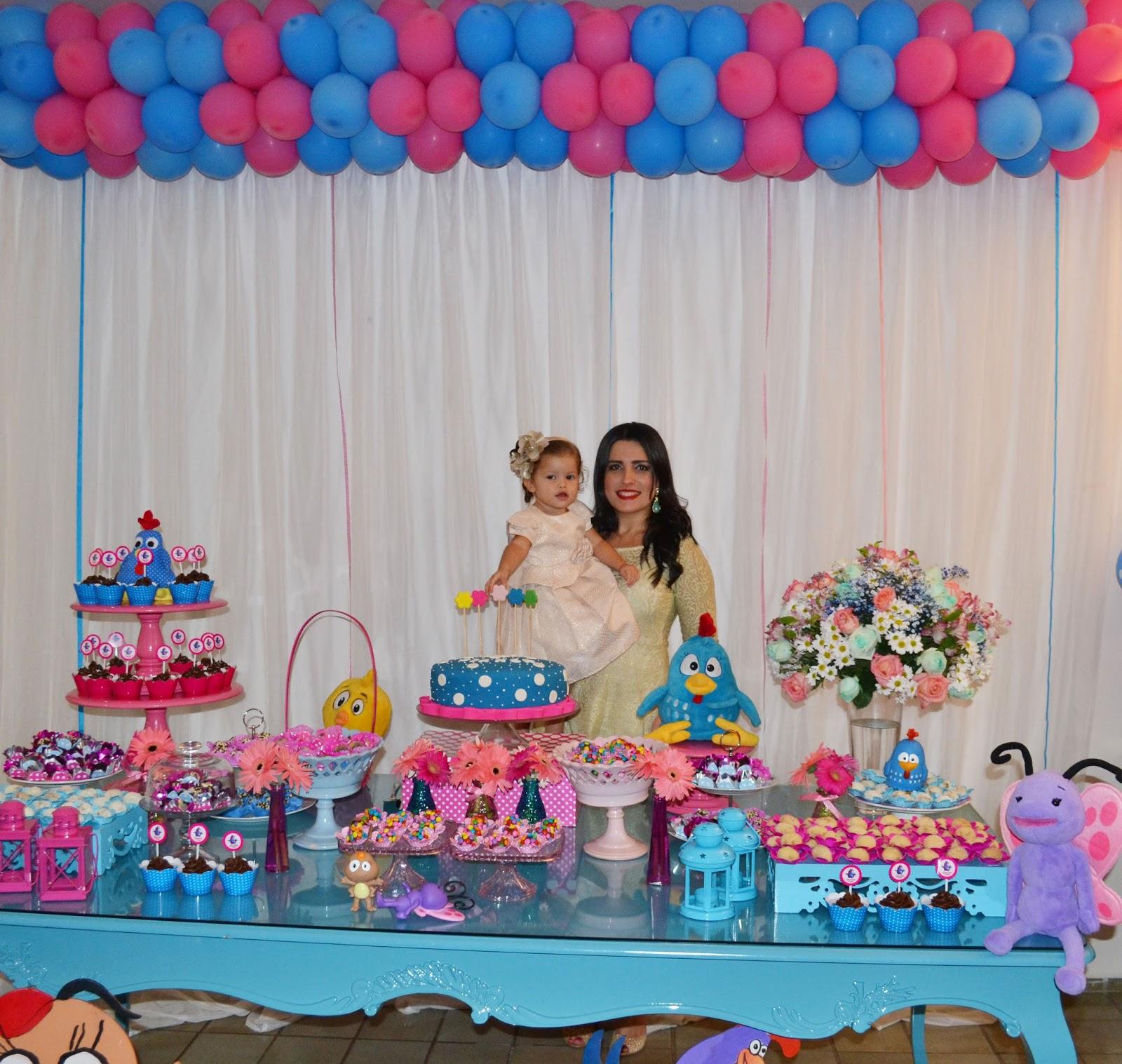 decoracao festa galinha pintadinha rosa:Festa Infantil Tema Galinha Pintadinha 9