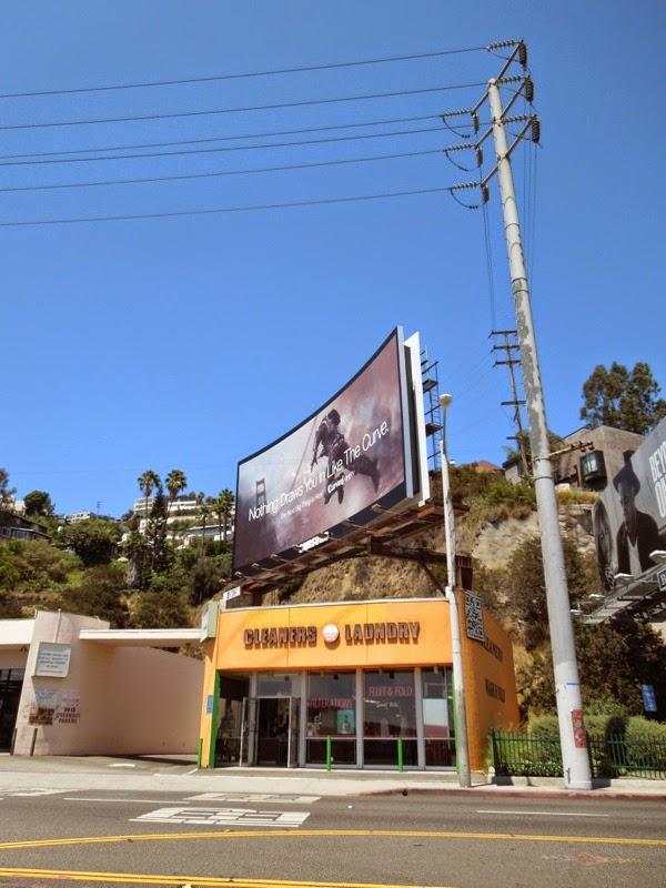 Samsung Curved UHD TV billboard installation