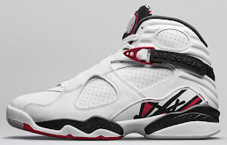 Air Jordan VIII - MJ dominates the field and leaves his mark.