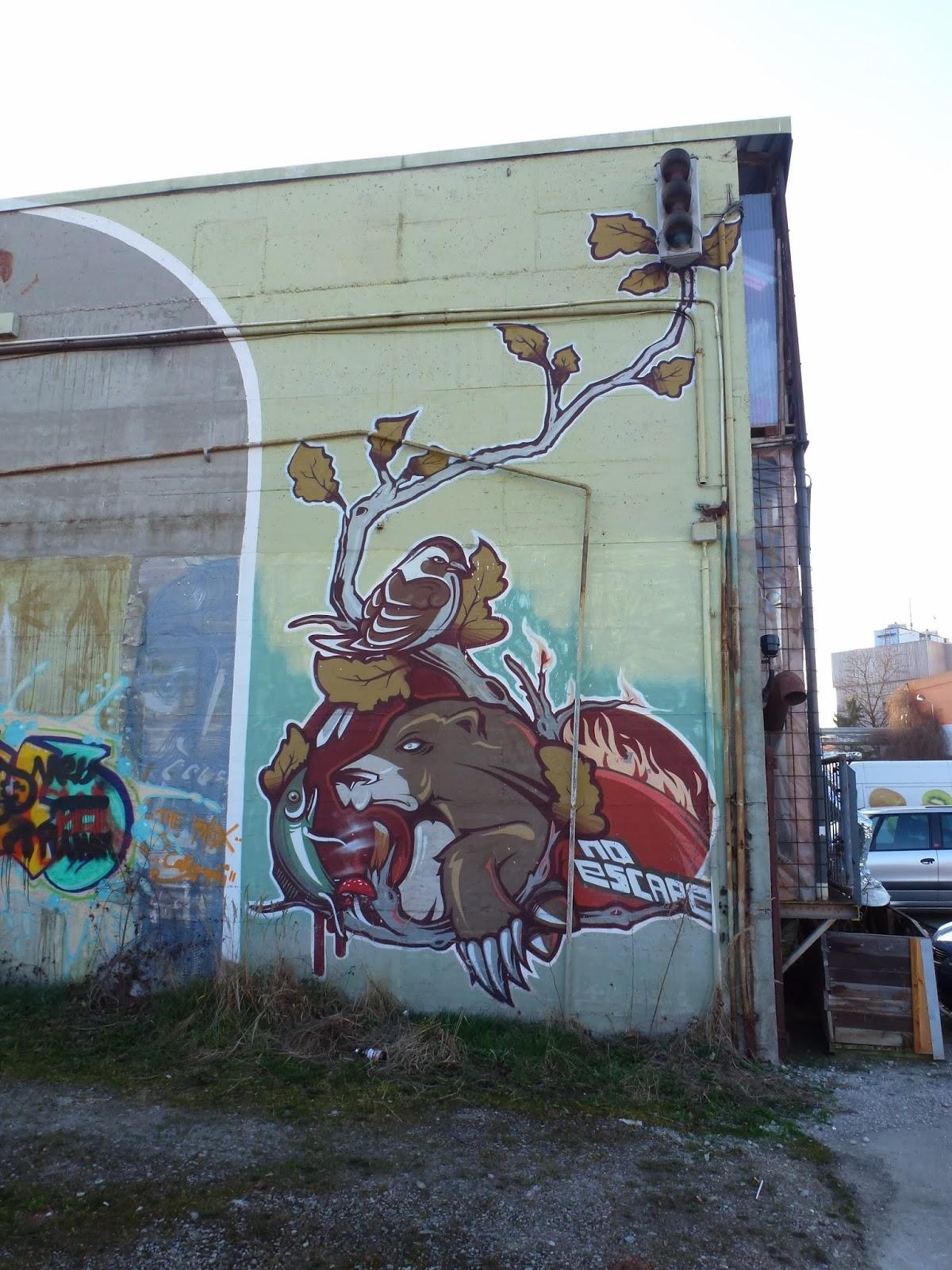 Graffiti, Kunstpark Ost, München