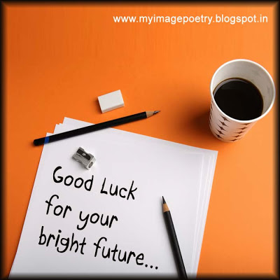 Best of Luck for Your Bright Future Wishes Image