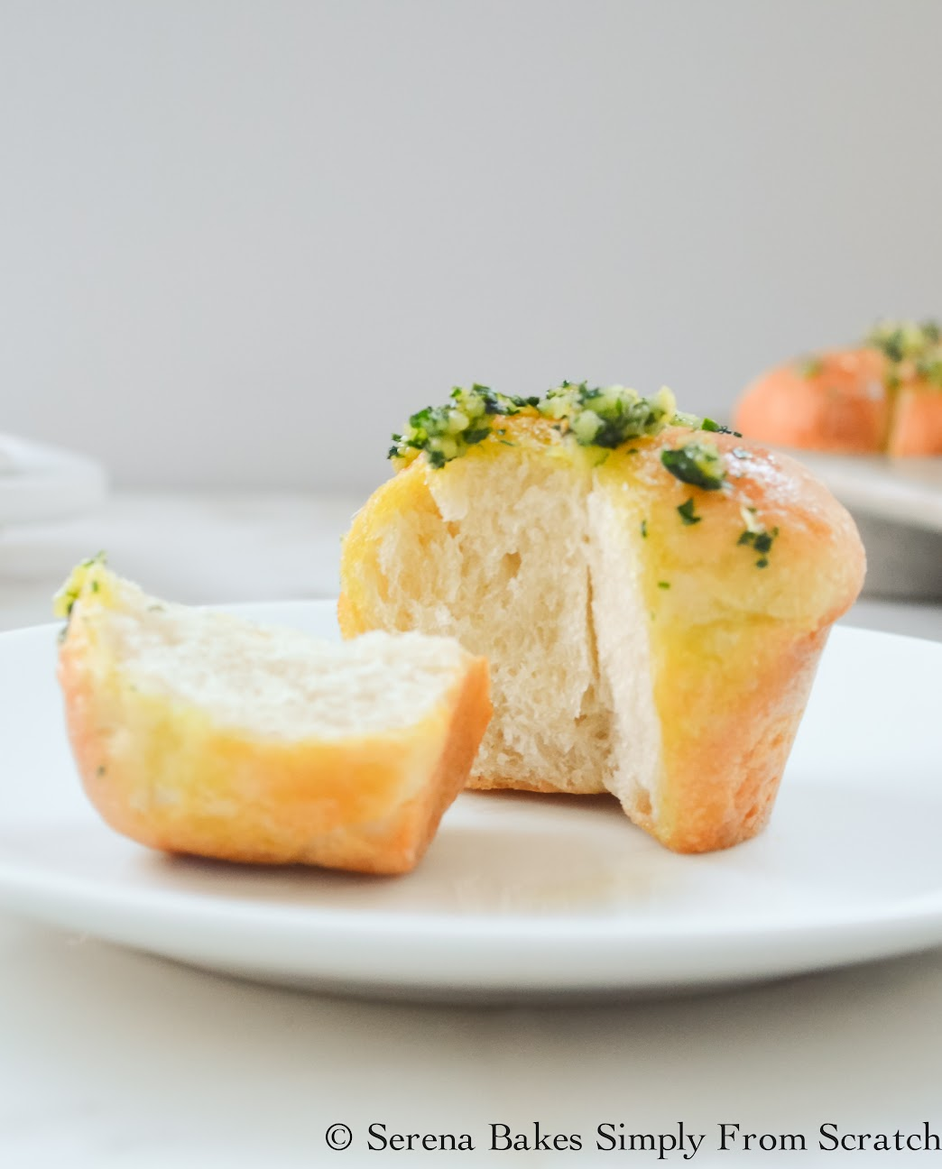 Garlic French Bread Dinner Rolls are a holiday favorite.