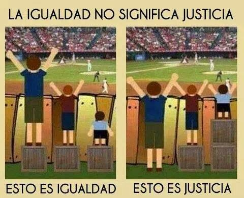 JUSTICIA E IGUALDAD