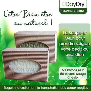 100 Savons Soin anti-transpirant DayDry