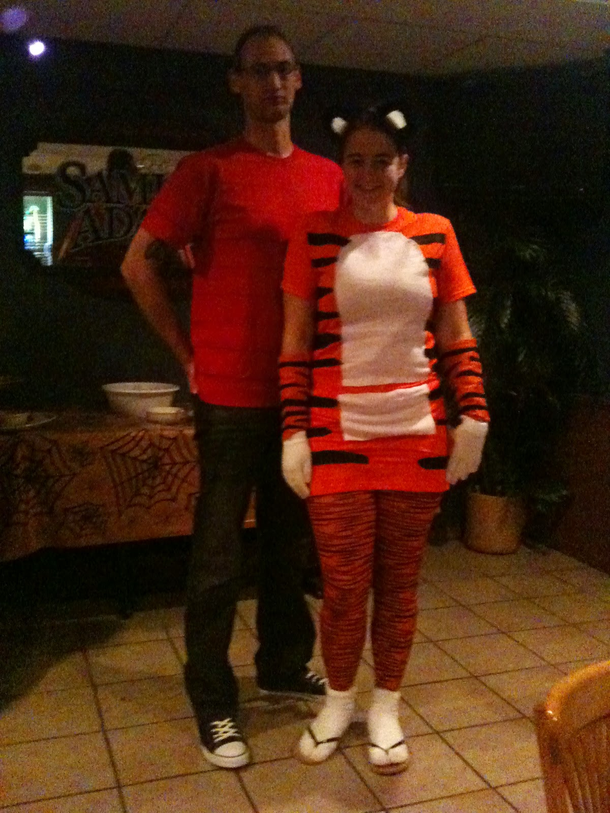 & The Crafty German: T-shirt Costume Tuesday #2 - Calvin and Hobbes