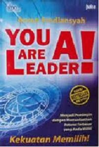 Buku You are a leader - Buku Motivasi Arvan Pradiansyah