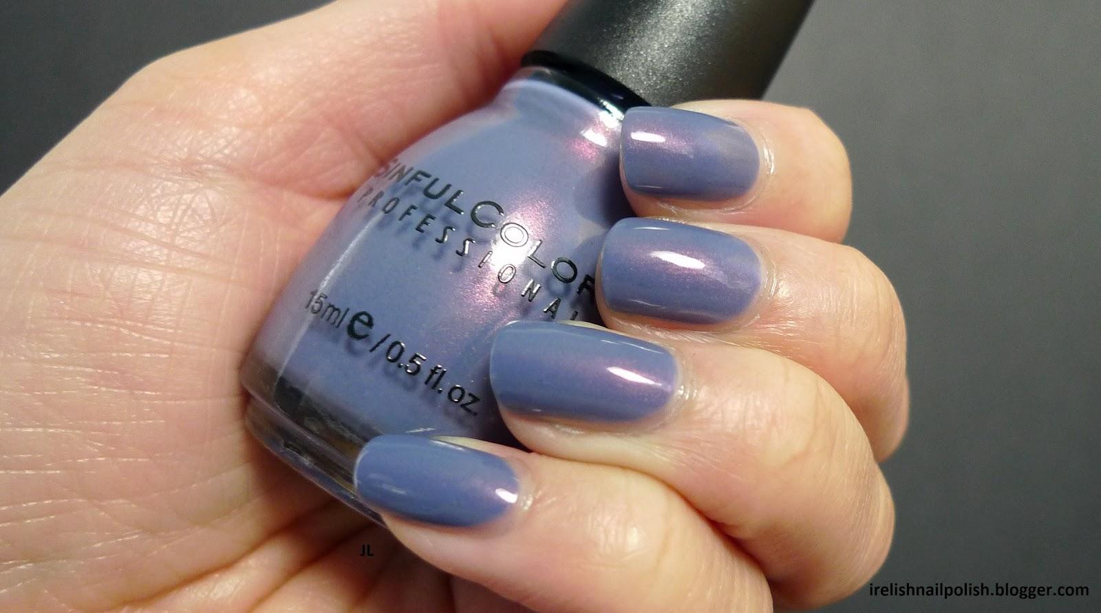 I Relish Nail Polish!: Sinful Colors - Zeus - Swatch