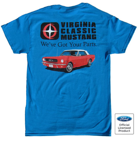 Virginia classic mustang blog new virginia classic for Vintage mustang t shirt