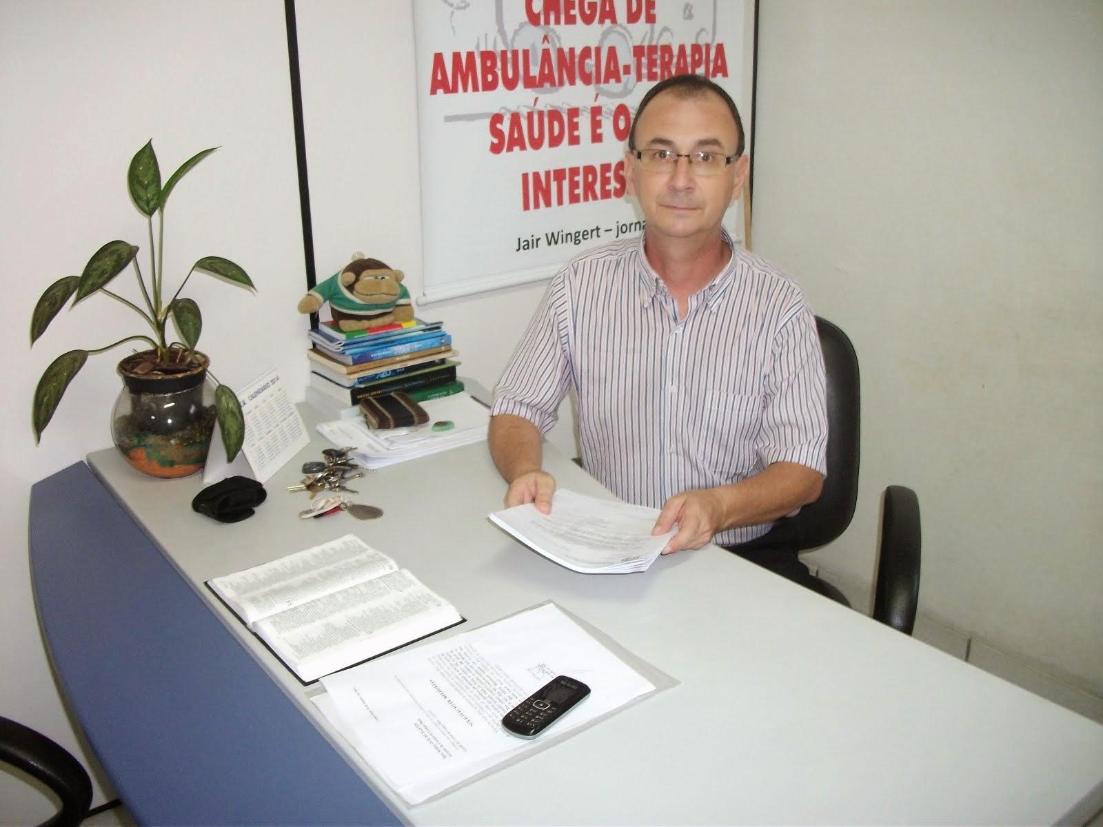 VEREADOR DO PSB SUGERE AUSTERIDADE NOS LEILÕES